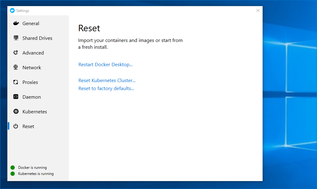 Getting Started on Docker for Windows · riff is for functions